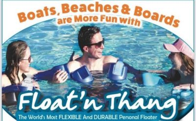 The Float'n Thang Personal Flotation adds to all round FUN