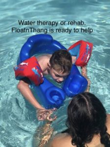Luxury Personal Flotation Device helps the disabled