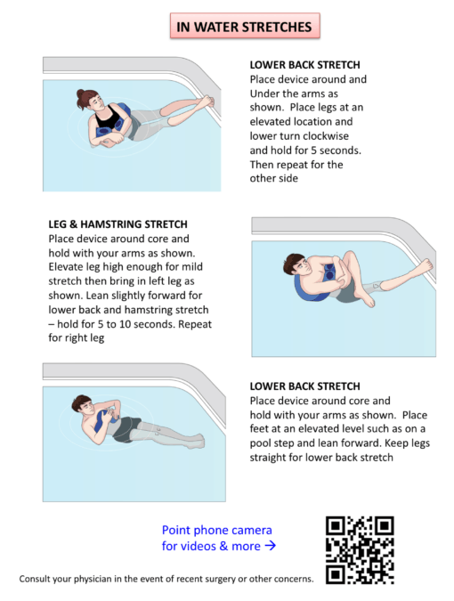 Zero Gravity (G) Aquatic Flotation - Fitness Benefits